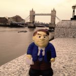 Overseeing the Tower Bridge in London