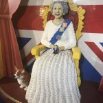 Visiting the Lego Queen, London